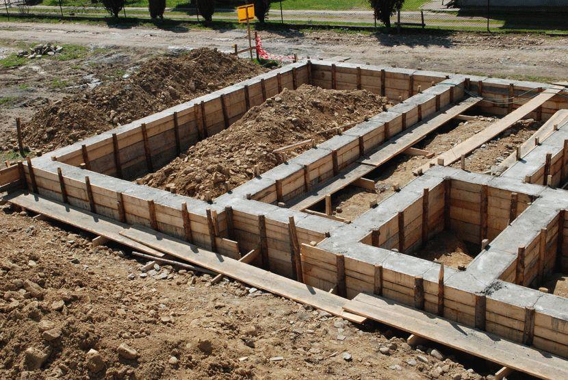 Фундамент своими руками для построенного дома