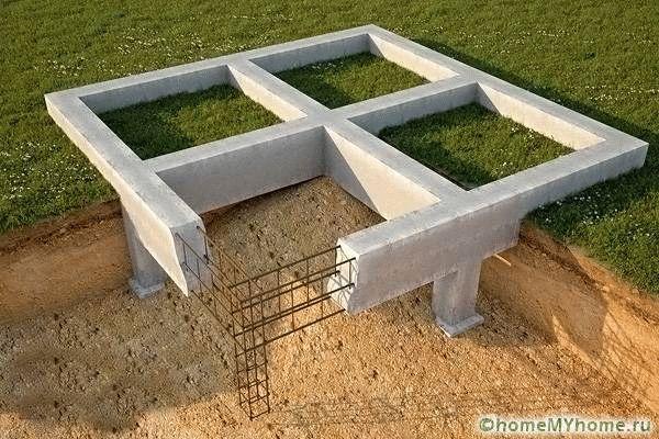 Как построить дом своими руками залить фундамент 98