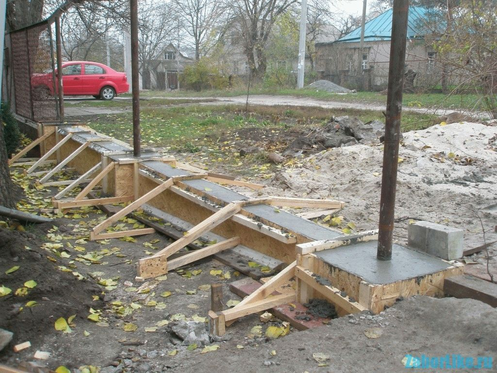 Может ли обойтись забор без фундамента и как залить ленту под забор
