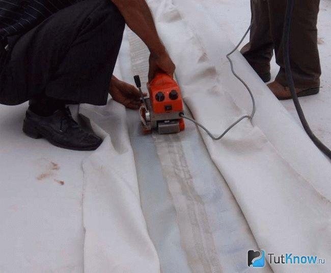 Проект производства работ на гидроизоляцию